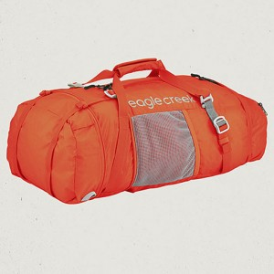 2-in-1 Backpack Duffel Orange
