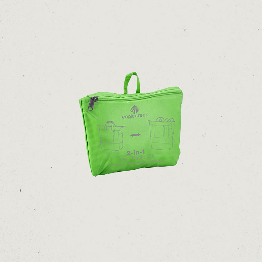 eagle creek introduces new 2 in 1 packable bags one bag