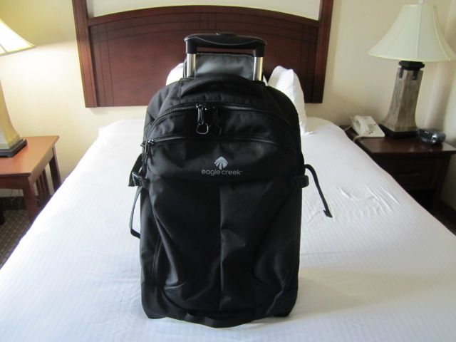 Gear Review: Eagle Creek Activate Wheeled Backpack 21 - One Bag ...